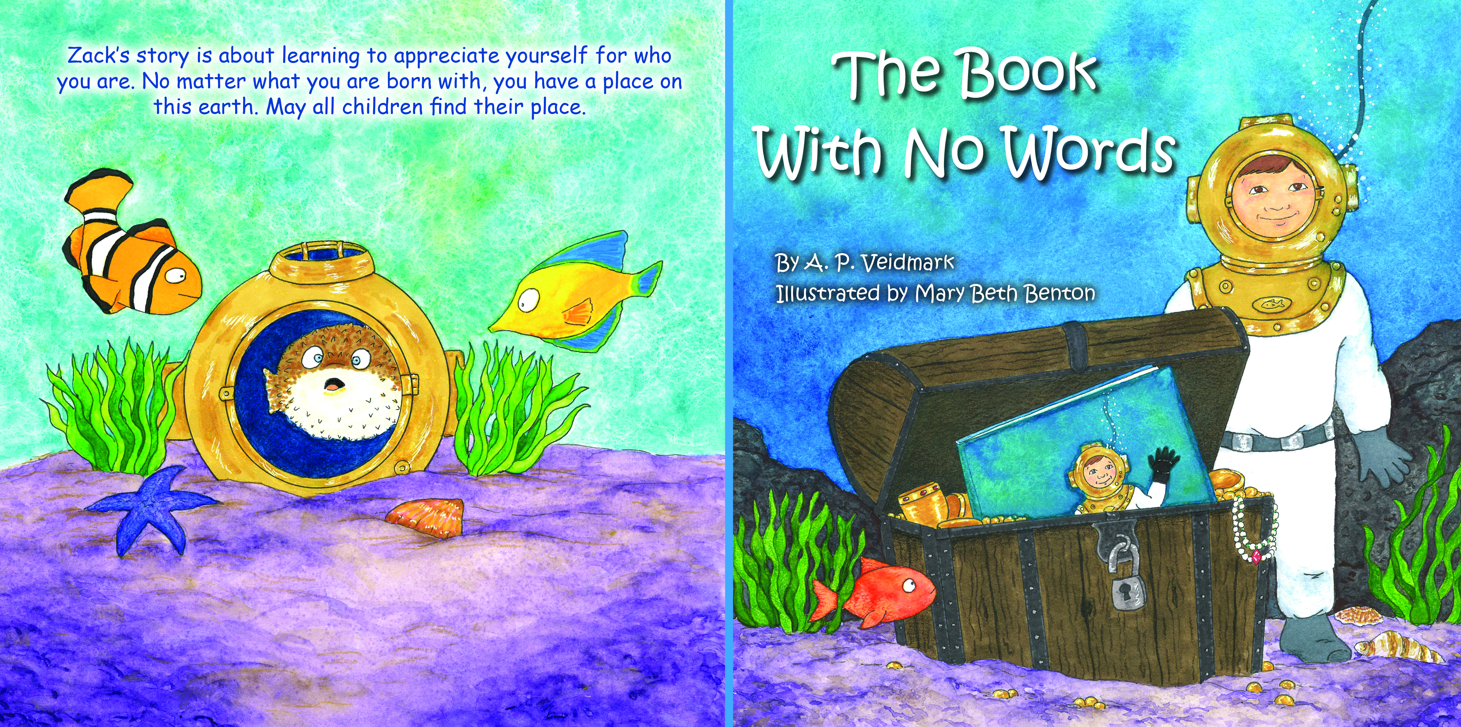 The Book With No Words - Cover