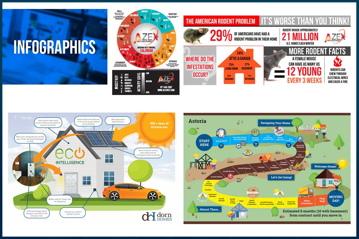 Infographics potfolio