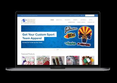 Forever Stitches Website Design