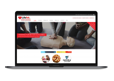 LifeTek Website Design